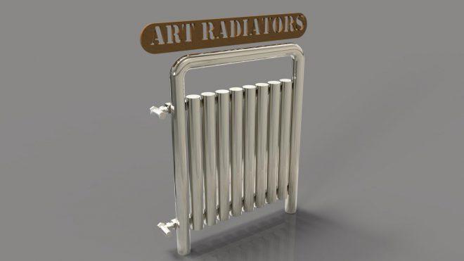 رادیاتور استیل مدل ART 1090